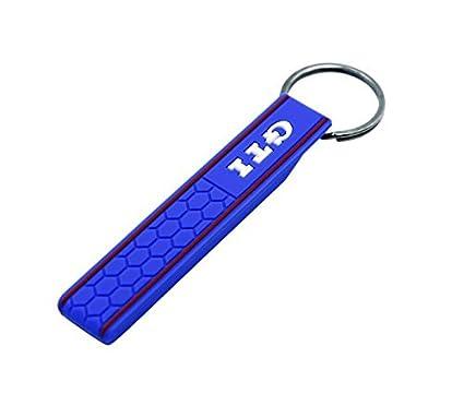 TGH (GTIBL) LLavero Sport de goma Azul con logo GTI Gran ...