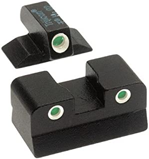 product image for Trijicon S&W .40 Long Rear, 3 Dot Front And Rear Night Sight Set