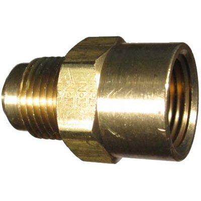 Adapter 1//8 NPT Female x 5//16 SAE Male Eaton Weatherhead 46X5 Brass CA360 SAE 45 Degree Flare