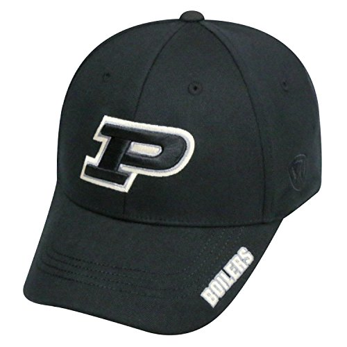 (Top of the World NCAA-Premium Collection-One-Fit-Memory Fit-Hat Cap-Purdue Boilermakers)