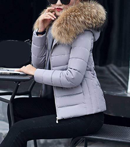 Doudoune Femme Fit Slim Manteau Court Hiver Manteau r6wvq5r