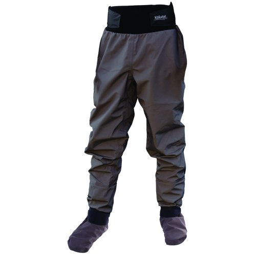 Kokatat Hydrus 3L Tempest Dry Pants with Socks Gray S