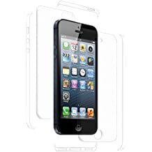 Amzer AMZ94930 ShatterProof Screen Guard Protector Shield for Apple iPhone 5, iPhone 5S, iPhone SE  - Full Body Coverage