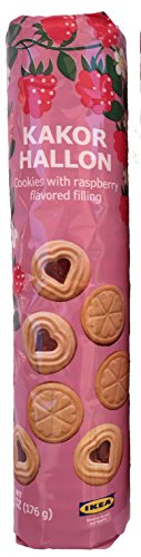 Raspberry Filled Cookies by Ikea Kakor Hallon (6.2 oz) (Tickets To Knotts Berry Farm compare prices)