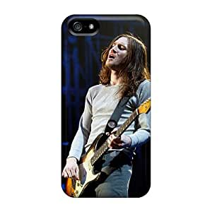AaronBlanchette Iphone 5/5s High Quality Cell-phone Hard Cover Custom High Resolution Red Hot Chili Peppers Image [NOM19698Lbpq]