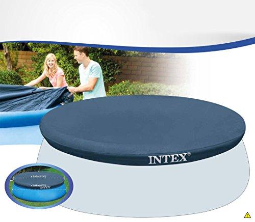 Intex 28022 cubierta circular para piscinas easy set de for Cubierta piscina intex
