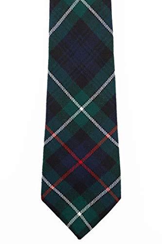 MacKenzie Modern Tartan Wool Necktie USA Kilts