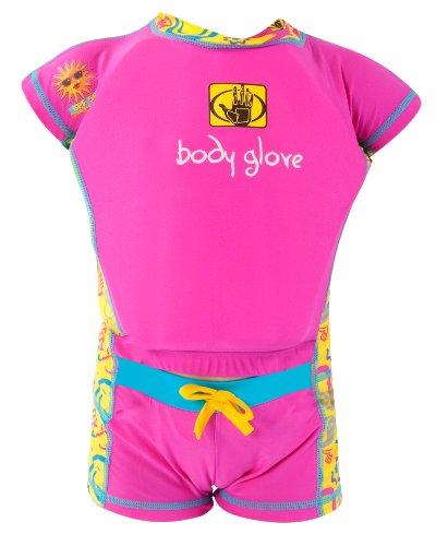 Glove Suit Body Float - Body Glove Girl's Swim Wet Suit Gear (Pink, 2-3)