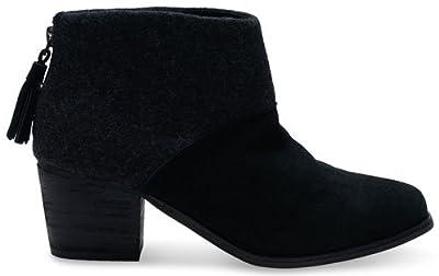 TOMS Women's Castlerock Grey Suede Leila Bootie 10007309