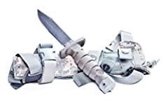The Rothco 3274 Ontariio ASEK-Aircrew Survival Egress Knife is the one and only survival/egress knife chosen by the US Army to be included in its Air Warrior Equipment System; it includes the knife, sheath and strap cutter multi tool. The kni...