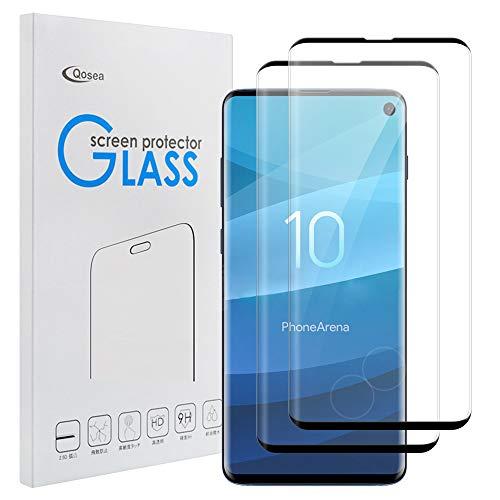 Qoosea Compatible with Samsung Galaxy S10 Screen Protector