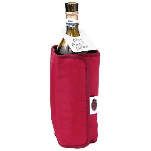 Jeray Vinology Dual Wrap Wine Champagne And Prosecco Bottle Chiller Cooler And ()