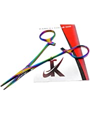 """Multi Colour Color Rainbow Mosquito Hemostat Forceps 5.5"""" Straight Pliers Stainless Steel"""