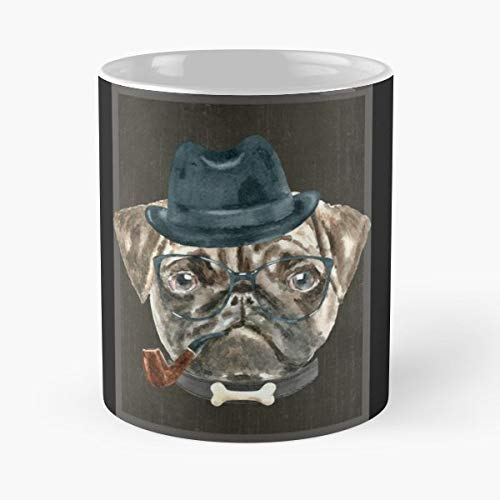 Dog Puppy Idea Saying Coffee Mugs Unique Ceramic Novelty Cup -