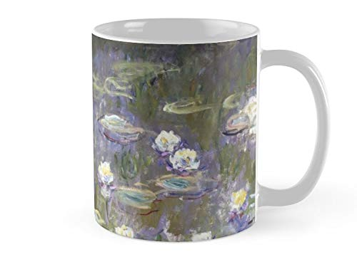 Wholesale Water Lilies - Pre Hero Mug Claude Monet - Water Lilies Mug - 11oz Mug - Features wraparound prints - Dishwasher safe - Made from Ceramic - Best gift for family friends