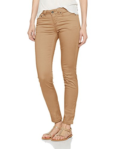 LPB Woman Pantalon Slim Regular, Jean Femme Marron (Chataigne)