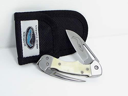 Myerchin Knives AF377 Generation 2 Bone Handle Crew Professional Rigging Knife