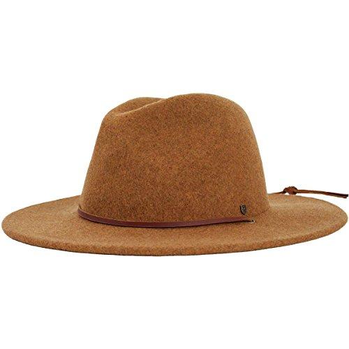 75d4f061a8fd8 Brixton Men s Field Wide Brim Felt Fedora Hat