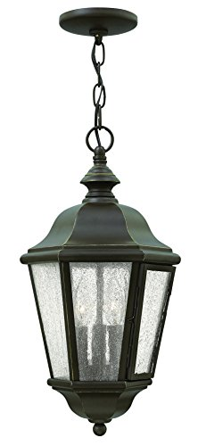 Hinkley Lighting Edgewater Outdoor Light - Hinkley Lighting 1672OZ Edgewater 3 Light Outdoor Chandelier