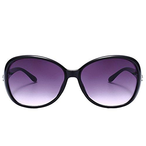 del Libre de Sol de de al Aire de Sol la 2 Gafas la Ruikey Sol Marco de Gafas Gafas Manera Grande Señora t6wP0Znxq