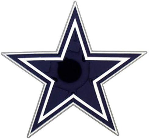 Blue Siskiyou NFL Dallas Cowboys Large Hitch Cover Class II /& Class III Metal Plugs Large