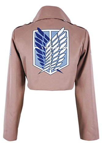 CosplayNow Attack On Titan Scouting Legion Cosplay Costume Brown Male XXL