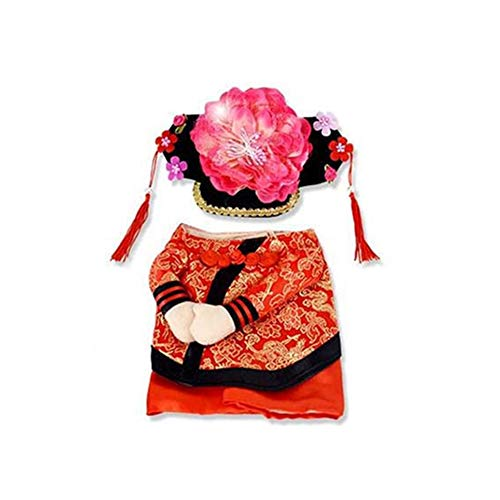 lightclub Halloween Pet Dog Cat Chinese Emperor Princess Outfit Cosplay Costume Clothes 1# -