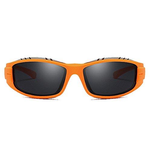Gafas De Sol Polarizadas Gafas A De Viento Amarillo Color De De Montar Gafas Gafas de Sol Gafas Sol De Sol KTYX Orange Prueba qp4wazIxW