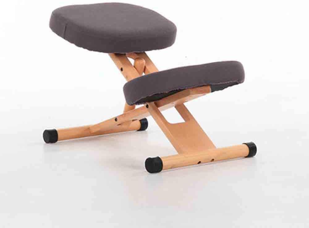 HCCX Silla ergonómica Rodillas, Ajustable en Altura ergonómica Rodillas, sillas de Oficina en casa Ortopédica Postura
