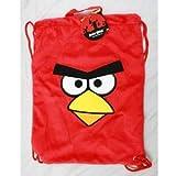 Angry Birds Plush Sling Bag / Drawstring Bag