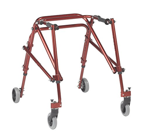 Inspired by Drive Nimbo 2G Lightweight Posterior Walker, Castle Red, M