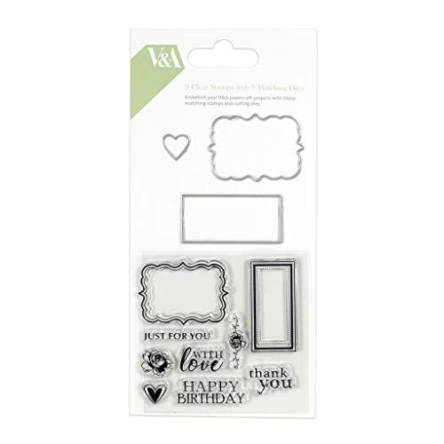 Victoria & Albert Royal British Craft Collection - Die Stamp Set - Sentiments