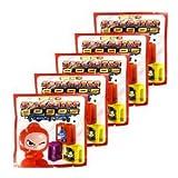 GoGo's Crazy Bones - Series 6 Superstar - (5 Pack Lot)
