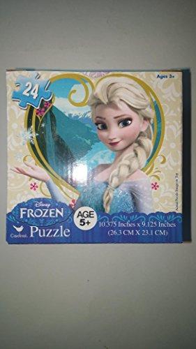 Disney Frozens Double Jigsaw Puzzle