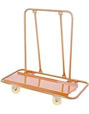 Mophorn Drywall Cart 1600LBS Load Capacity Drywall Cart Dolly Handling Sheetrock Sheet Panel Service Cart Heavy Duty Casters