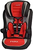 MyCarSit High Back Booster Car Seat for Kids, 9 to 36 kg, Carmine Red
