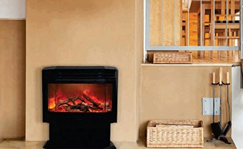 Free Standing Sierra Flame Electric Fireplace Stove By Amantii