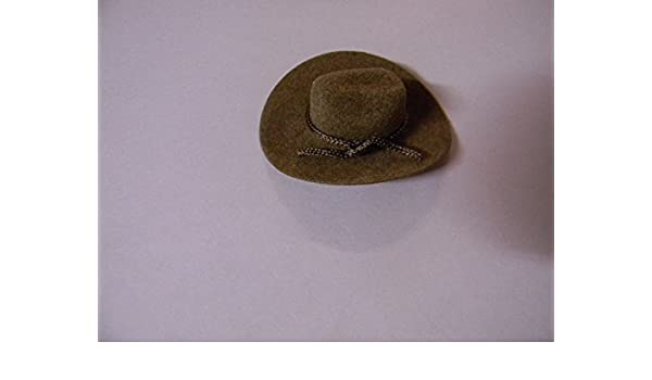 00810844935f2a Amazon.com: Western party 2 inch Wedding Craft Favors Mini Brown Cowboy Hats  24: Kitchen & Dining