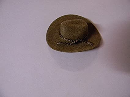 477fde6a642916 Image Unavailable. Image not available for. Color: Western party 2 inch  Wedding Craft Favors Mini Brown Cowboy Hats 24