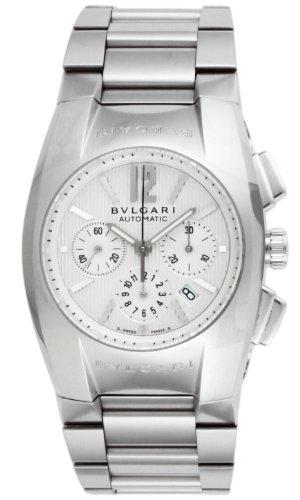 (BVLGARI watch Elgon White Dial Automatic Chronograph Date EG35C6SSDCH)