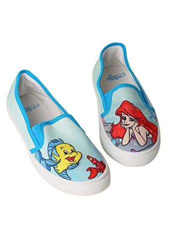 Disney womens Little Mermaid Women's Flats Large
