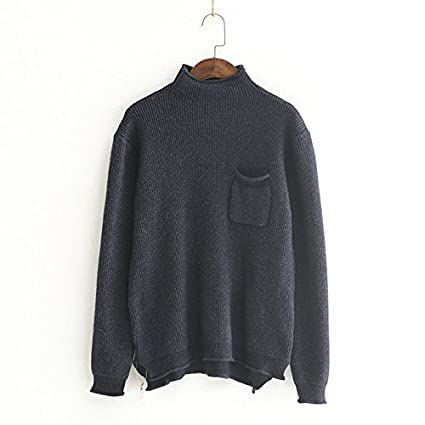SZYL-Sweater Suéteres para Mujeres Top de Punto de Cuello Alto de Mujer de  otoño 2e912d6e98b3