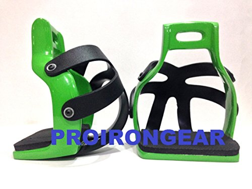 Aluminum Safety Endurance Trail Horse Caged Saddle Stirrups Western English Aluminum Trail Stirrups
