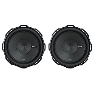 "2) Rockford Fosgate P2D2-12 12"" 1600Watt 2-Ohm Punch Series Car Audio Subwoofers"