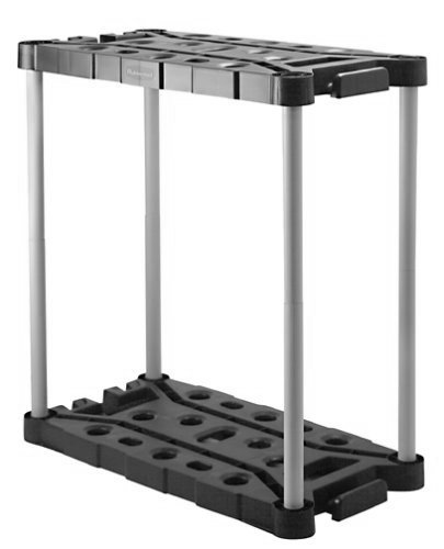 Rubbermaid Long-Handle Tool Storage Unit (FG709218MICHR) by Rubbermaid