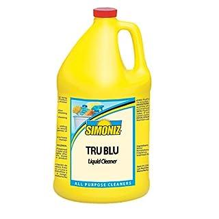 Simoniz T3834004 Tru Blue All-Purpose Cleaner and Degreaser, 1 gal Bottles per Case (Pack of 4)
