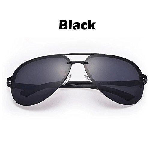 UV400 Estructura los plata sol metal para de sol a lentes de Il conductores nero hombres 100 gafas de gafas Color gafas TIANLIANG04 Oculos polarizado guiar para los espejo dz74wd