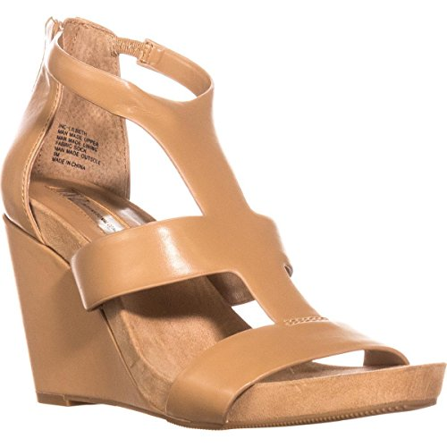 INC International Concepts Womens Lilbeth Open Toe Casual Platform Sandals Classic Tan SYMXM