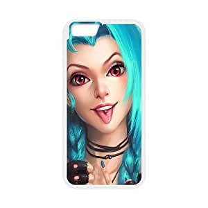 League Of Legends Jinx iPhone 6 4.7 Inch Cell Phone Case White gift pjz003-9359010