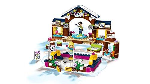 LEGO- Friends Pista di Pattinaggio del Villaggio Invernale Costruzioni Piccole Gioco, Multicolore, 41322 2 spesavip